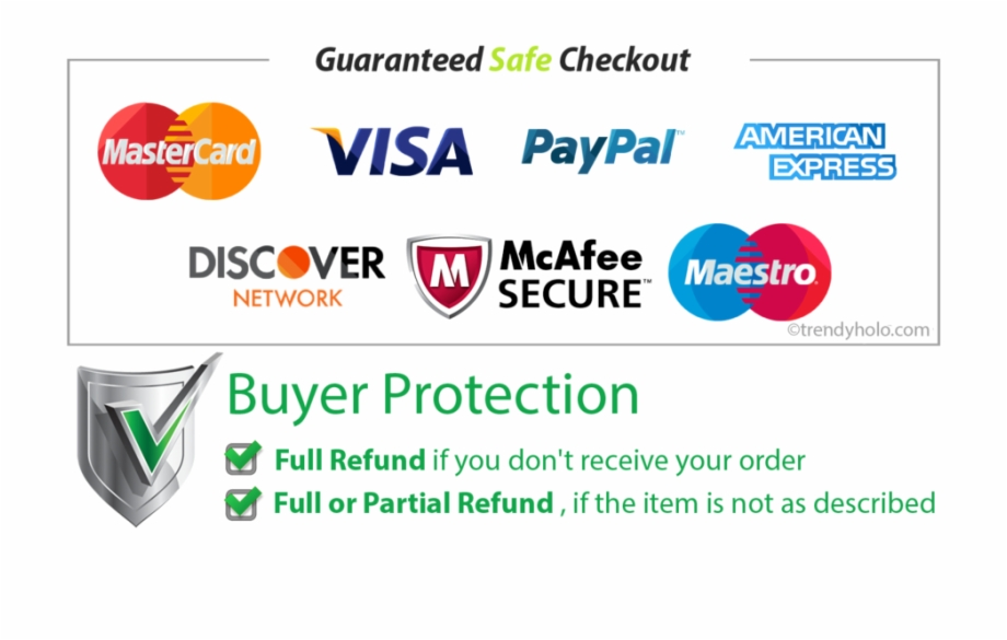 Checkout Secure - Refund Buyer Protection | Transparent PNG ...