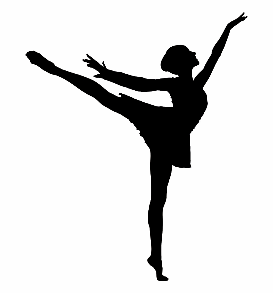 Arabesque Vector Dance Silhouette Clip Art Girl Ballet Dancer Silhouette Transparent Png Download 1739585 Vippng