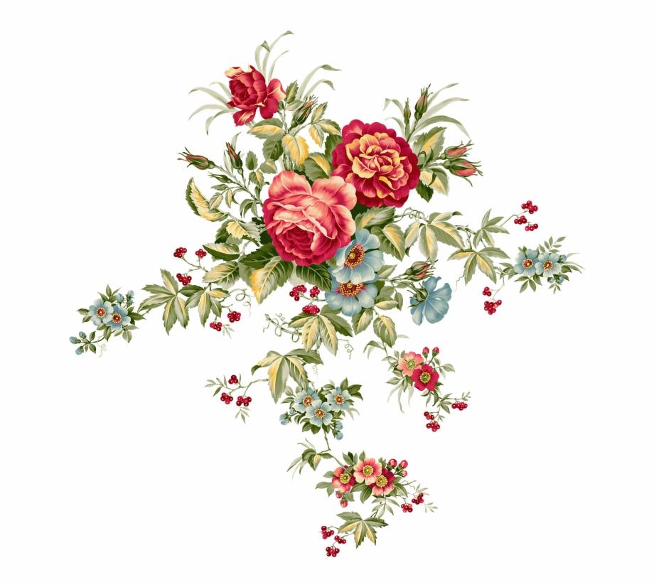 Flores Dibujo Png Flores Vintage Dibujo Png Flower