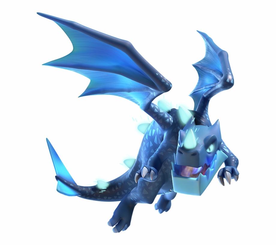 Clash Royale Electro Dragon Transparent Png Download