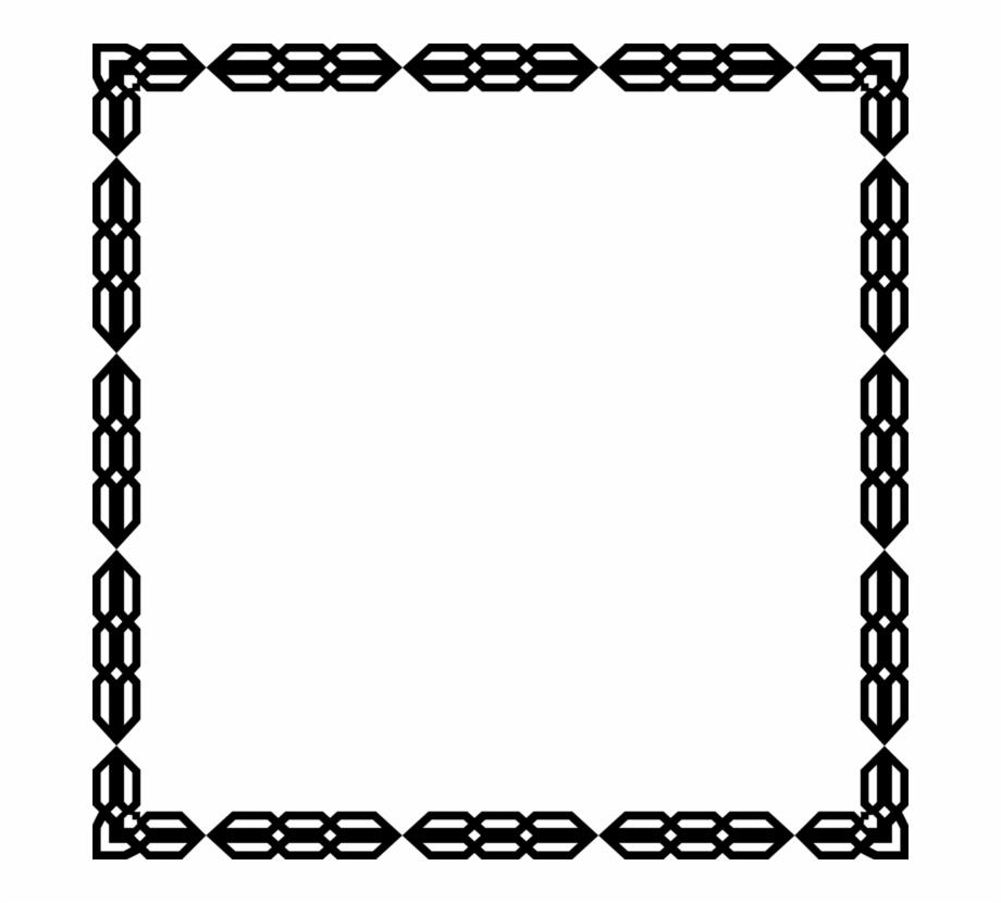 borders and frames silhouette mat art ornament bingkai bunga hitam putih transparent png download 1832425 vippng borders and frames silhouette mat art