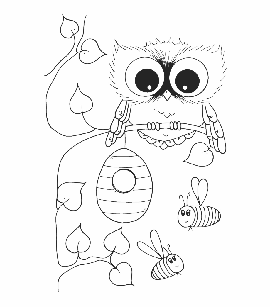 - Coloring Pages Owls - Cute Owl Owl Coloring Pages Free Printable