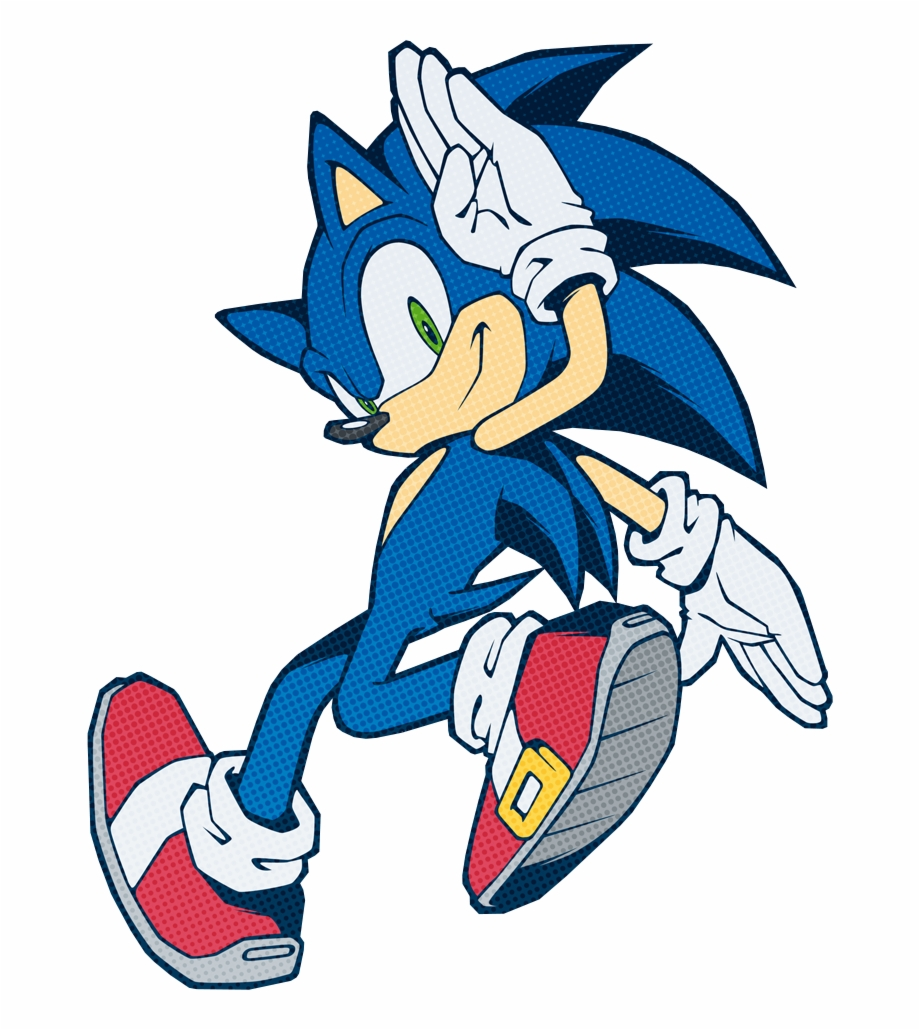This Years Sonic Channel Art Is Literally Thatpic Sonic Shadow Silver The Hedgehog Transparent Png Download 1859398 Vippng