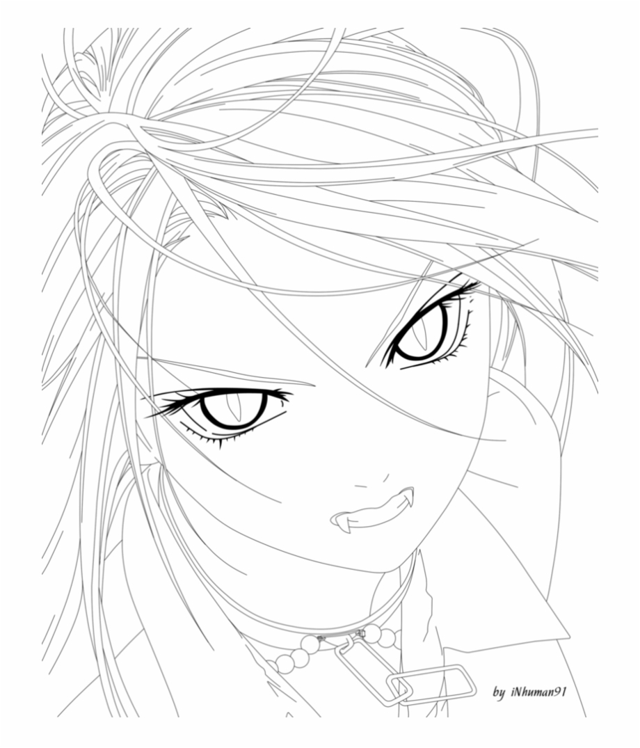 Rosario Vampire Moka Coloring Pages Victorian Vampire Hunter