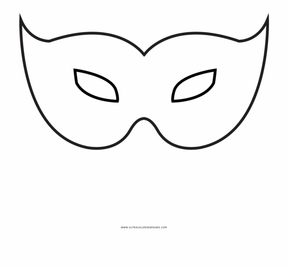 Desenhos Para Colorir De Mascaras De Carnaval Mascaras