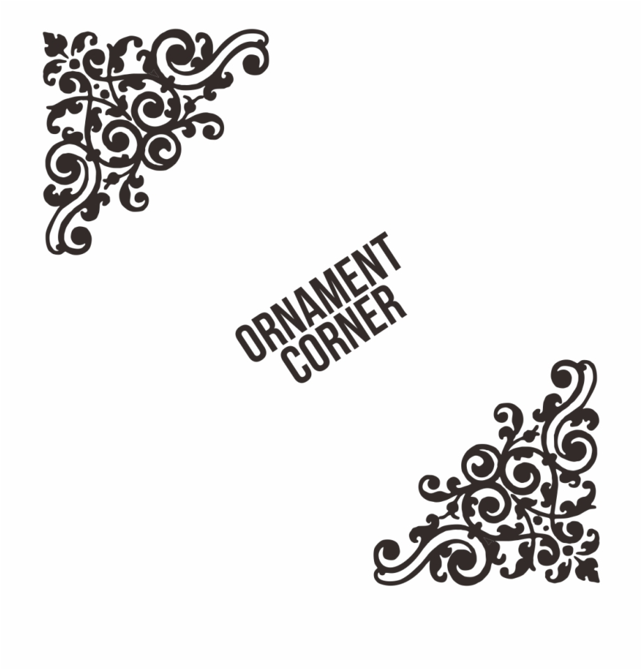 ornament vector cdr corner floral svg transparent png download 1933555 vippng ornament vector cdr corner floral svg