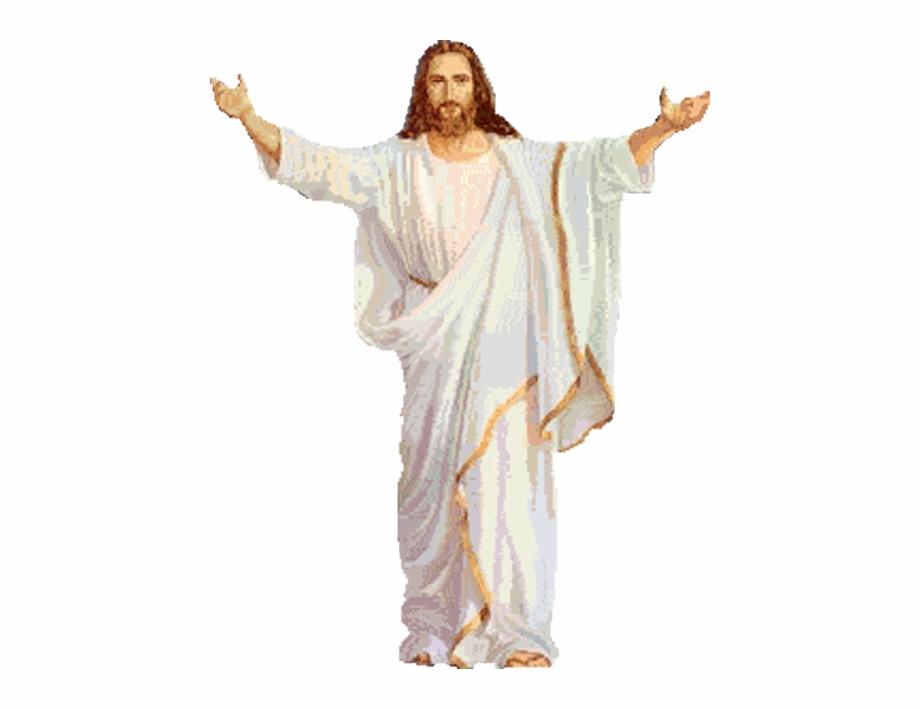 Анимация иисуса христа на прозрачном фоне