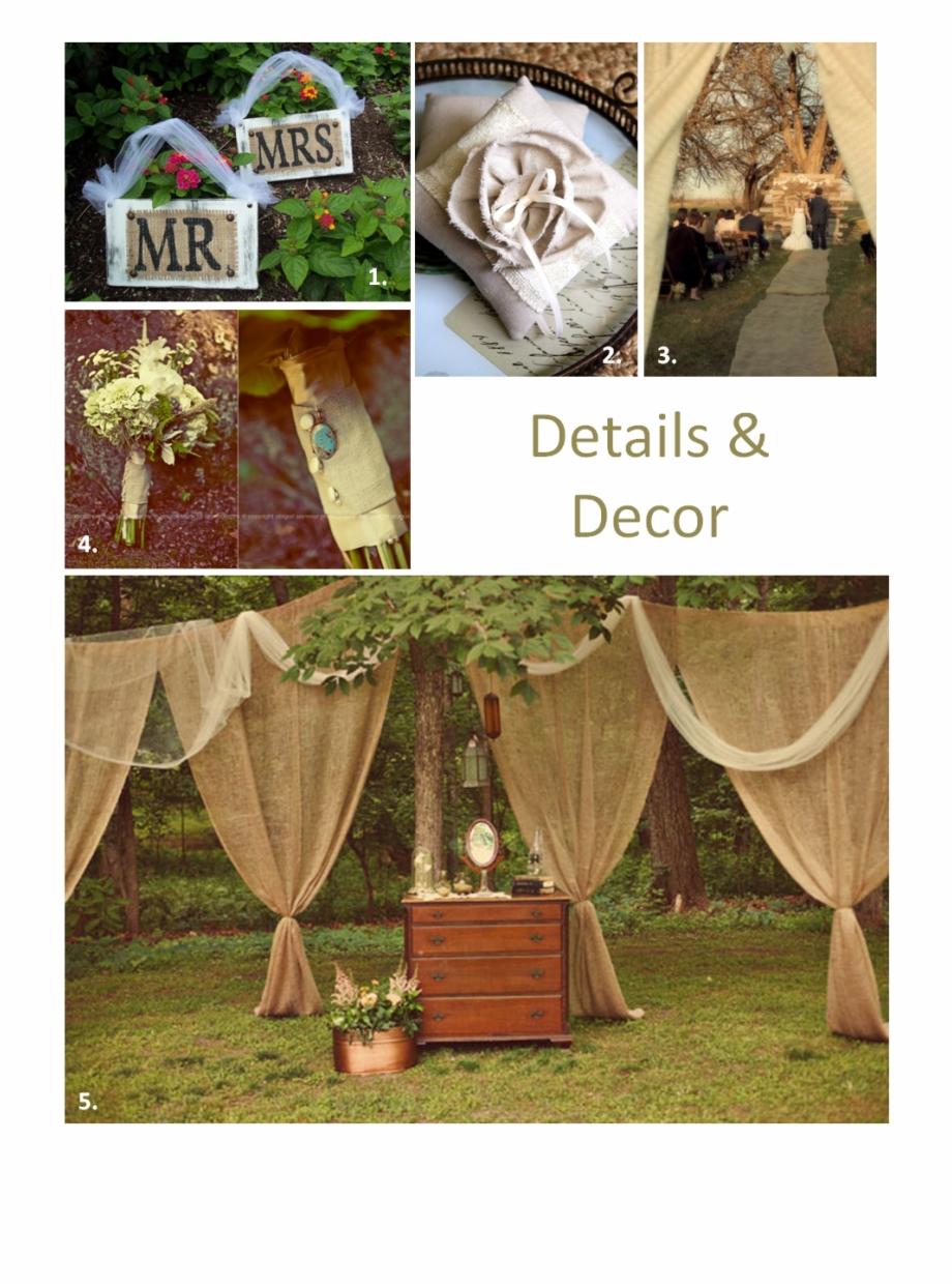 Low Budget Diy Rustic Wedding Decor | Transparent PNG Download ...