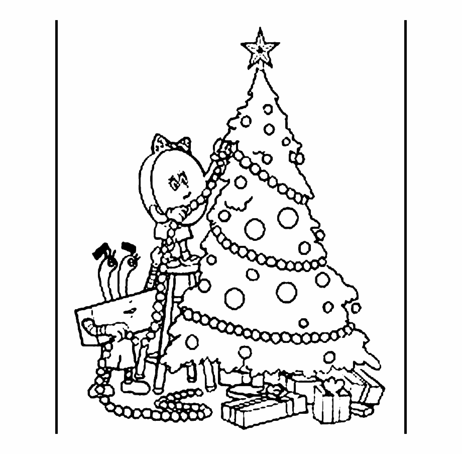 Download Christmas Ornaments Drawing