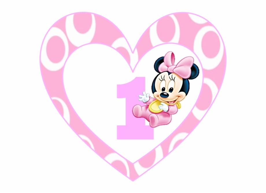 Kit De Minnie En Su Primer Cumpleanos Para Imprimir Minnie Baby