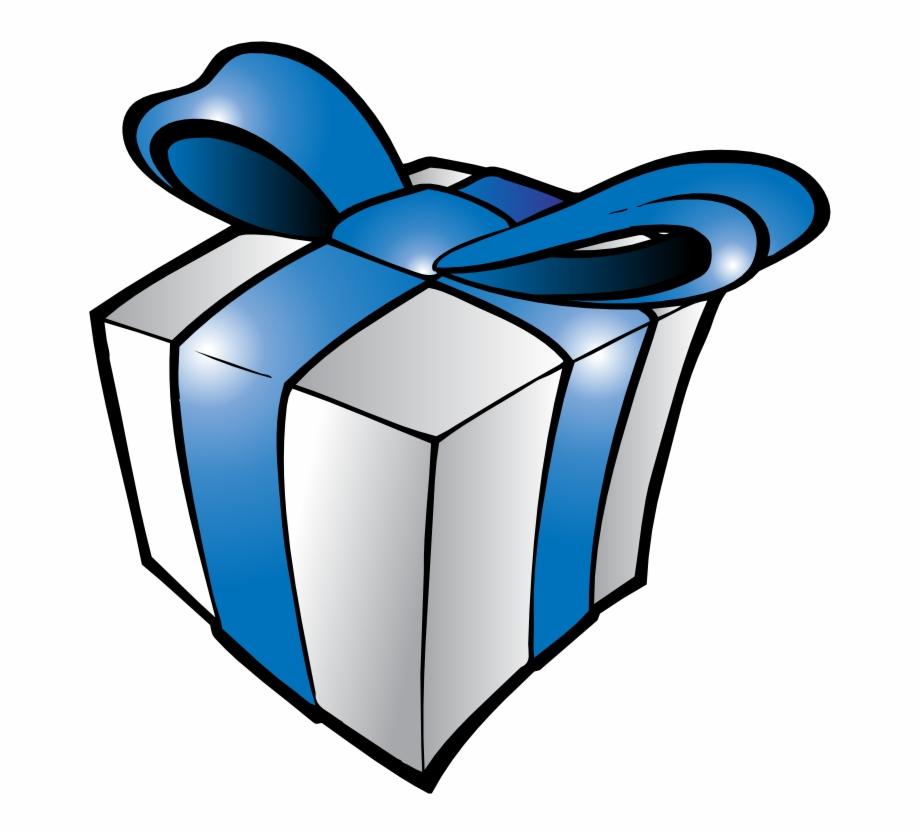 Presents Png Present Clipart - Blue Birthday Present Clip ... (920 x 834 Pixel)