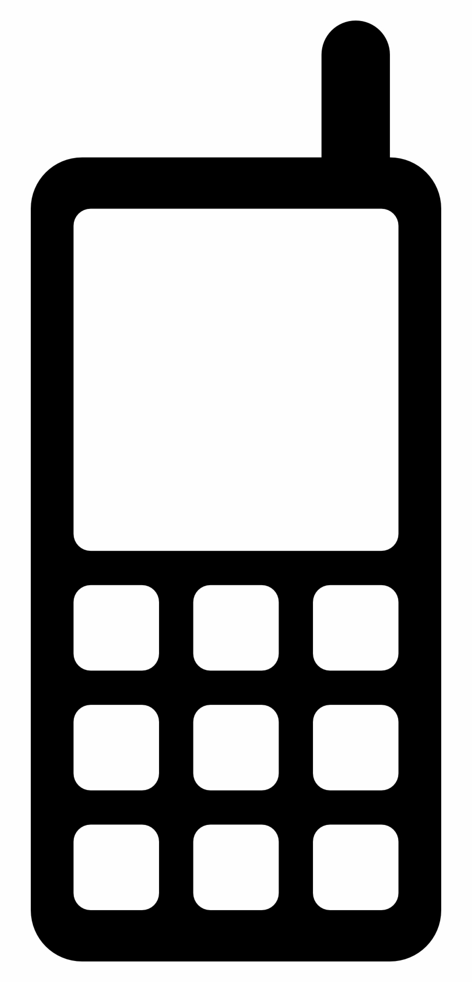Free Icons Png Mobile Phone Icon Transparent Png Download 24339 Vippng