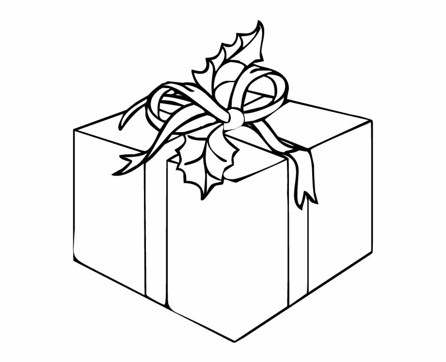 Christmas Gift Box Drawing.Christmas Present Drawing Png Gift Box Clip Art