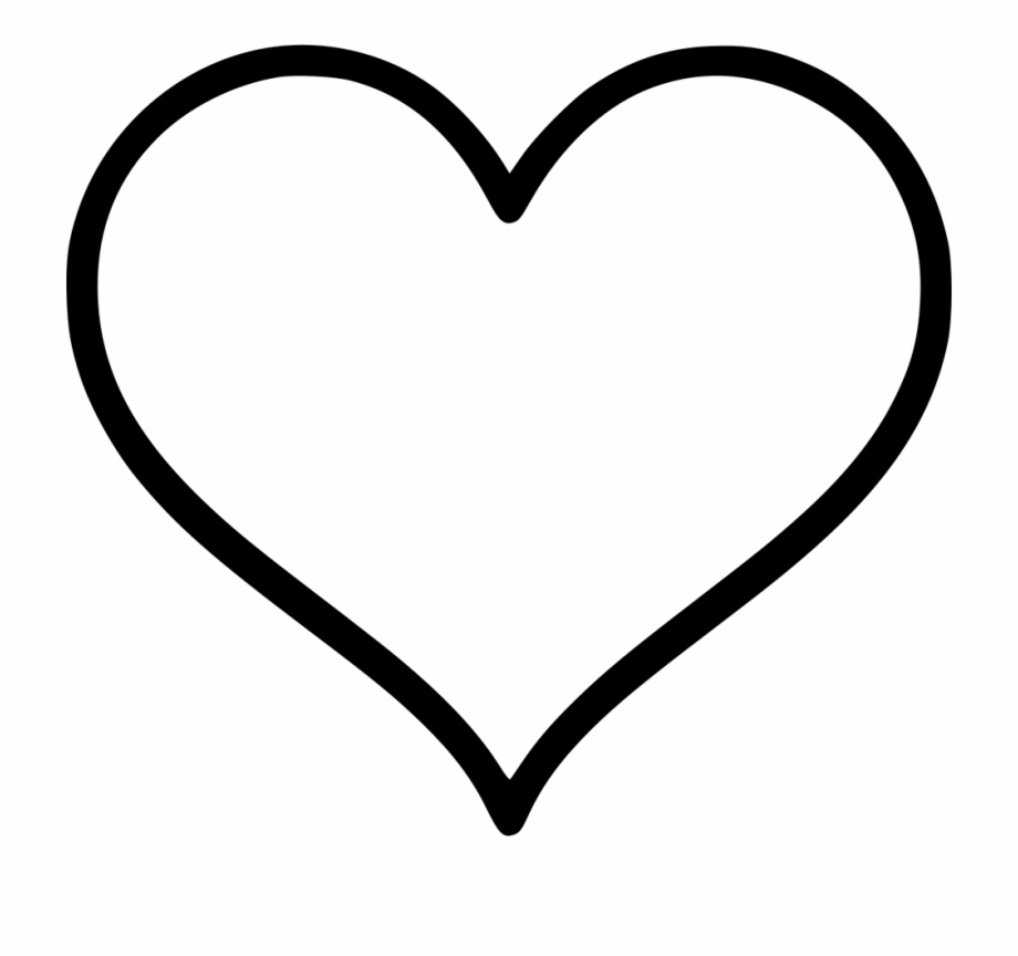 Icon Free Download Heart Svg Transparent Png Download 201374 Vippng