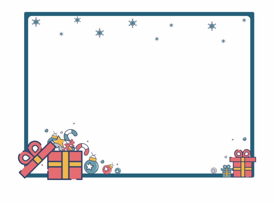 Christmas Border Design Png.Mbe Style Gift Christmas Border Design Png And Vector