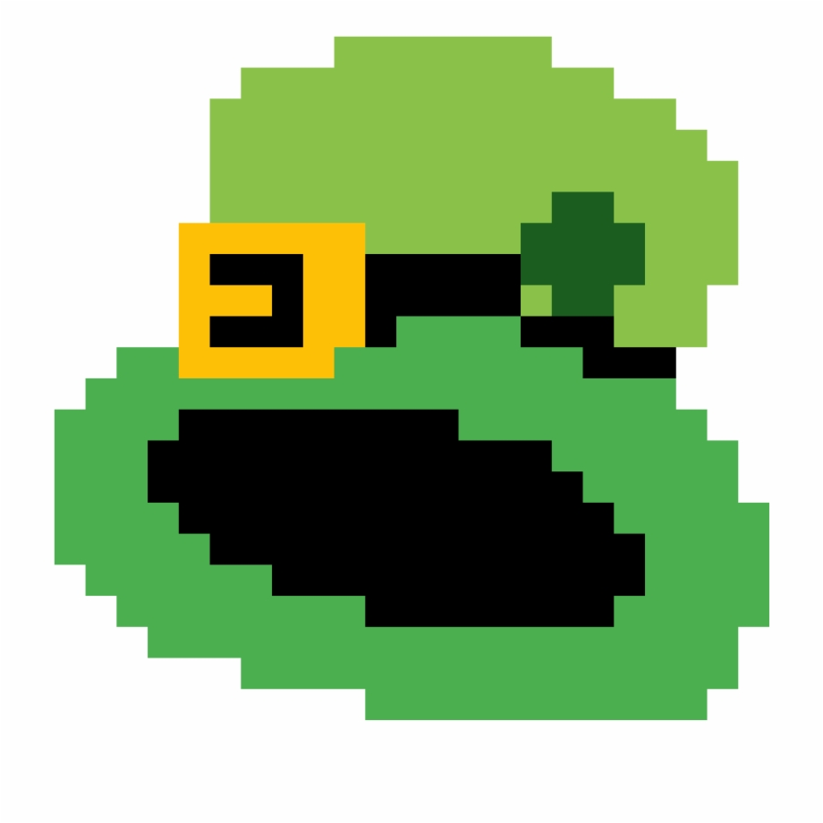 Leprechaun Hat By Jbezoarjr Kawaii Panda Pixel Art