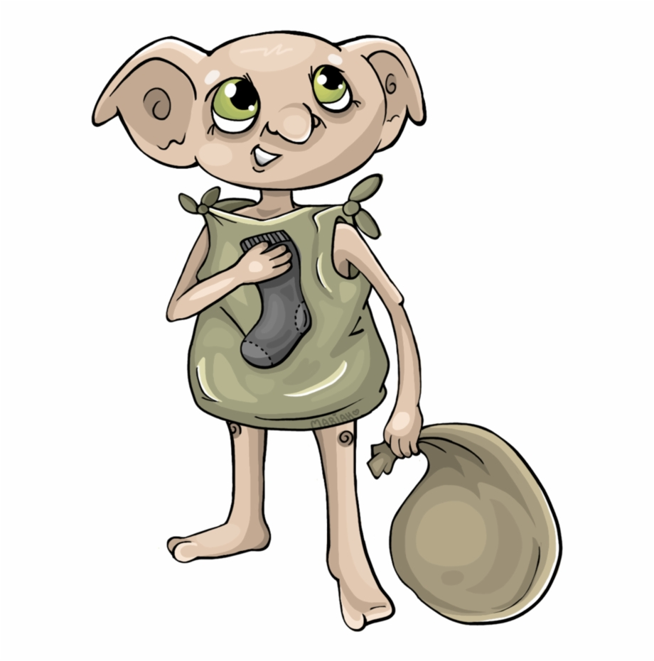 Dobby Is Free By Di Harry Potter Dobby Transparent Png