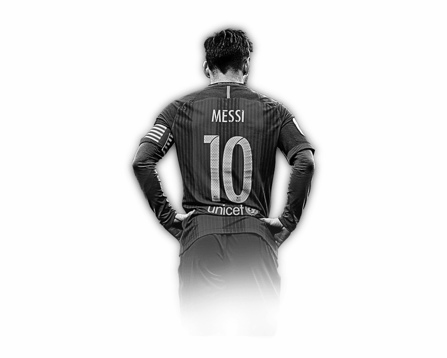 Barcelona Messi Black And White Png Transparent Png Download 2060747 Vippng