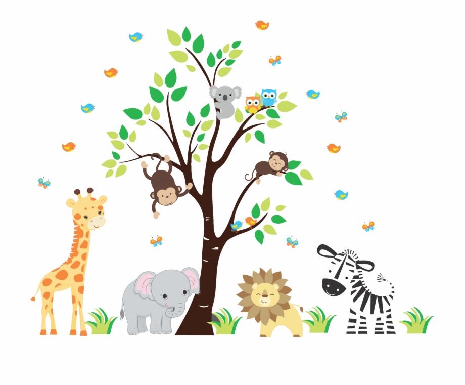 Nursery Wall Decals Jungle