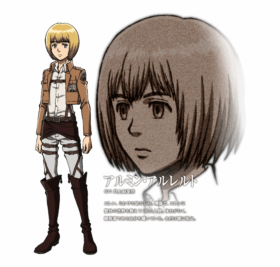 Attack On Titan Yellow Hair Transparent Png Download 2080881 Vippng