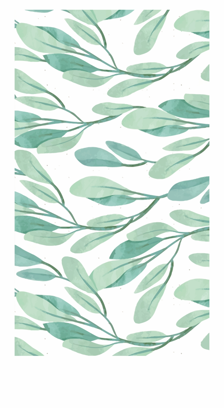 Watercolor Leaves Png Picture   Iphone Wallpaper Pattern ...