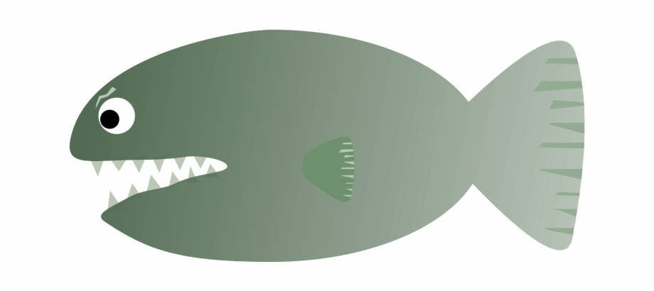 Piranha Pirana Png Sole Transparent Png Download 2151082