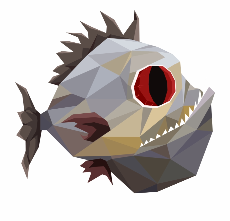 Piranha Piranha Fish Sprite Transparent Png Download