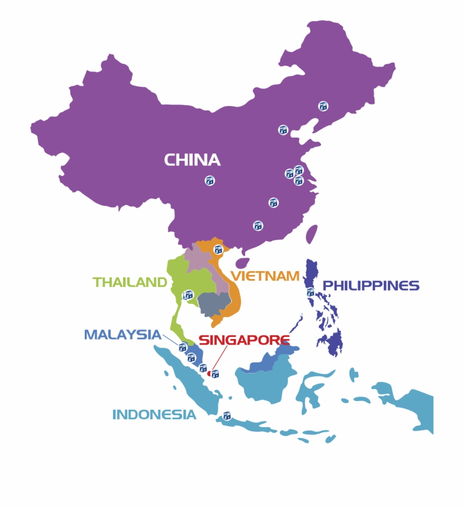 malaysia and china map China And Malaysia Map Transparent Png Download 2166391 Vippng malaysia and china map