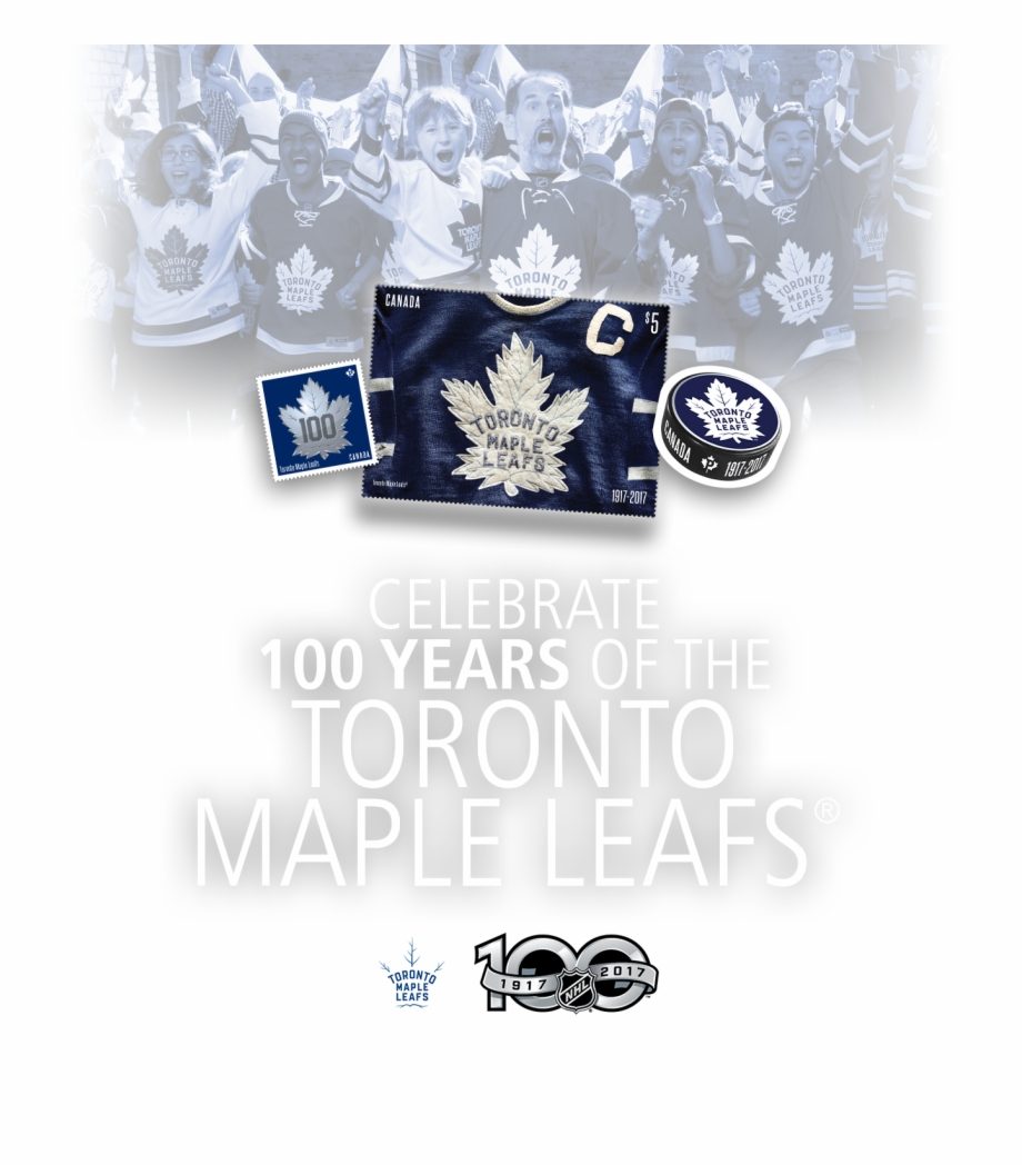 Celebrate 100 Years Of The Toronto Maple Leafs Badge Transparent Png Download 2197053 Vippng