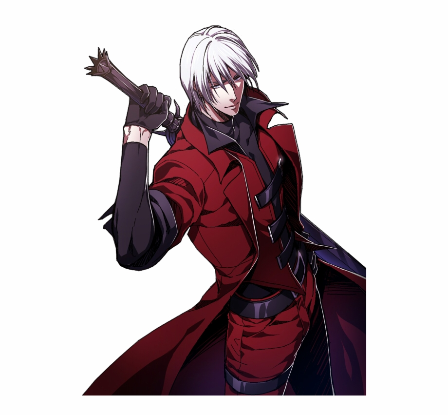 Dante Png Picture Dante Devil May Cry Anime Transparent