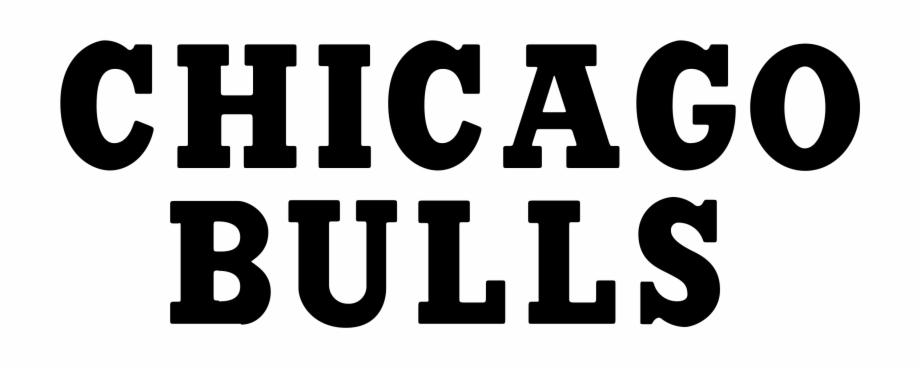 Chicago Bulls Logo Png Chicago Bulls Font Transparent Png