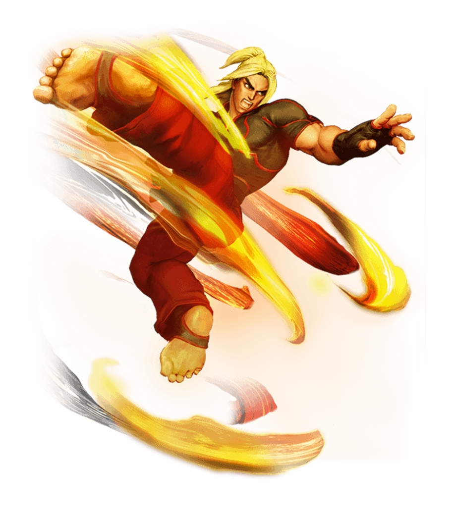 Ken Masters Street Fighter Ken Transparent Png Download