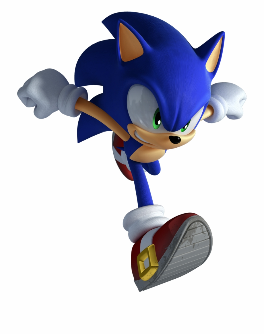 Modern Sonic Is Here To Stay Sonic Unleashed Sonic Running Transparent Png Download 2237131 Vippng