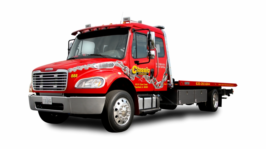 Tow Truck Png Transparent Background Red Tow Truck Flatbed Transparent Png Download 2237349 Vippng