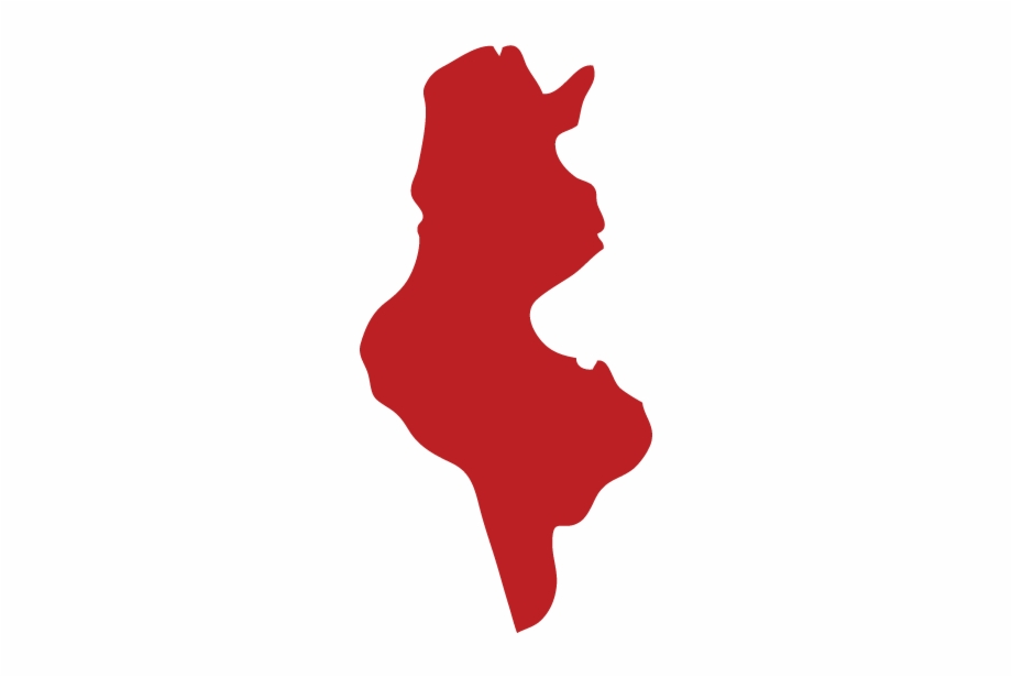 Tunisia Map - Tunisia Map Icon Png   Transparent PNG