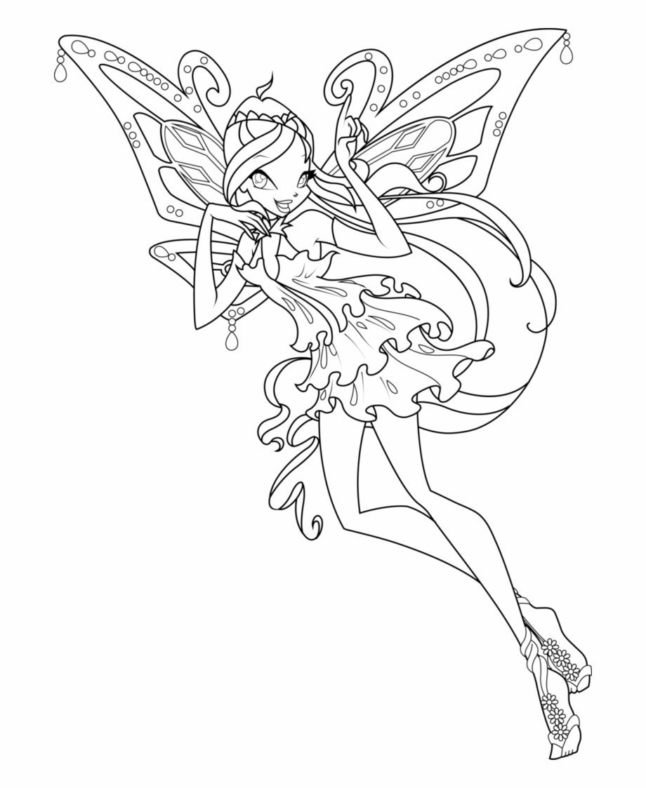 Tecna Winx Club Coloring Pages Winx Club Bloom Enchantix Coloring Pages Transparent Png Download 2245522 Vippng