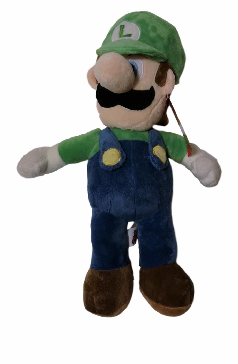 Luigi 16 Plush Plush Transparent Png Download 2278998