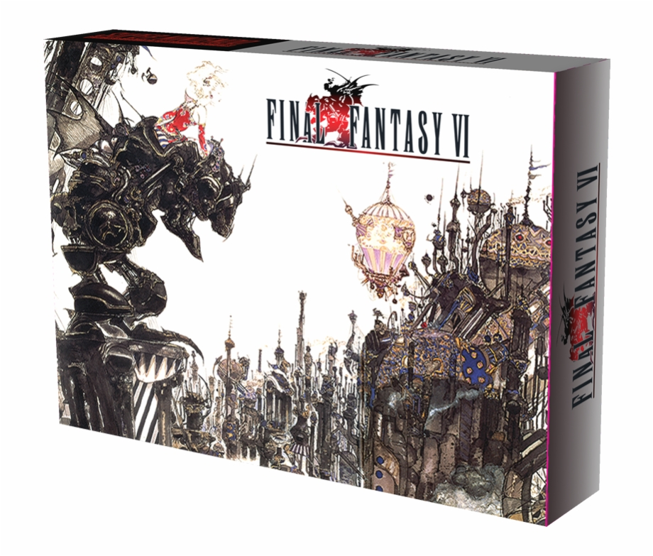 Final Fantasy 6 Cover Art