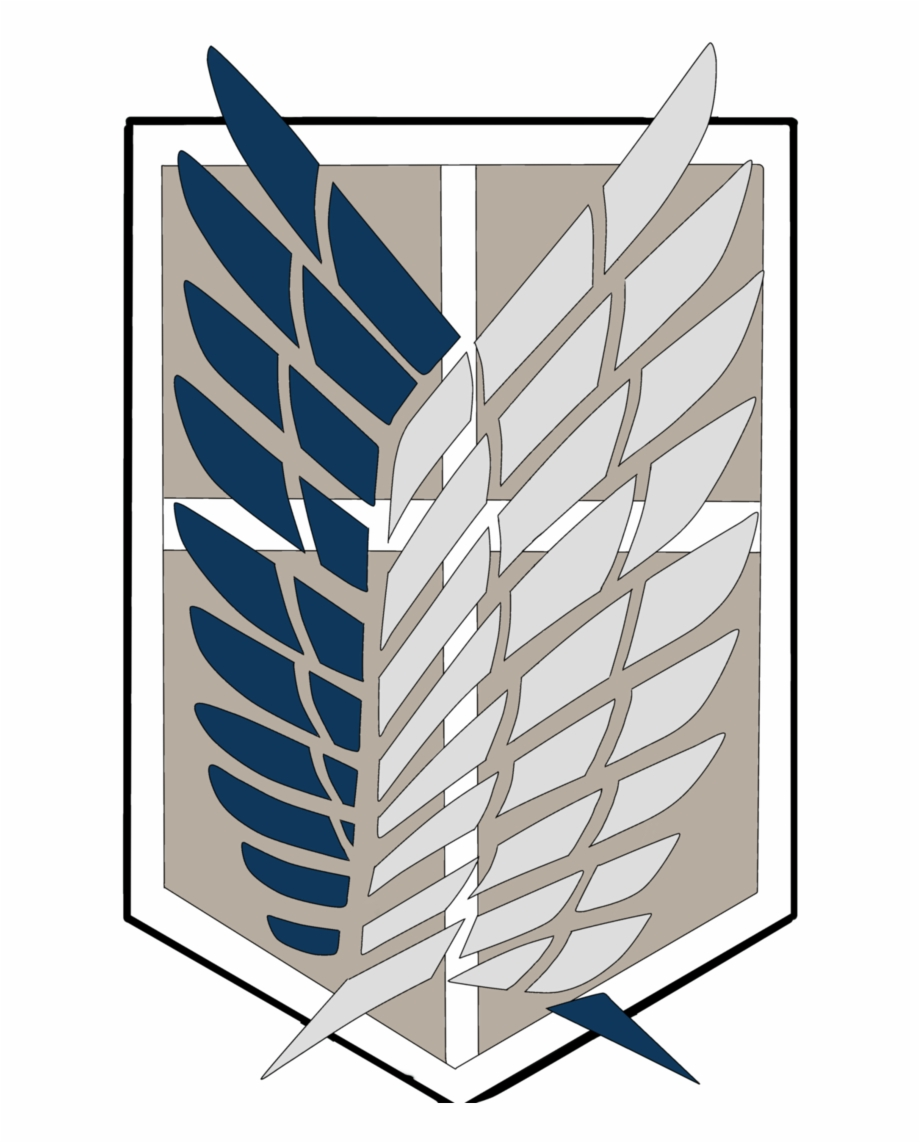 Shingeki No Kyojin Logo Png Attack On Titan Flugel Der Freiheit Transparent Png Download 2324294 Vippng