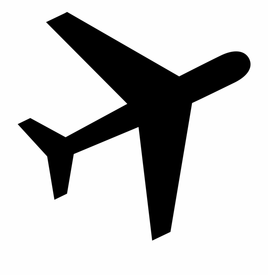 Logo Avion Png Grey Airplane Cartoon Transparent Png Download