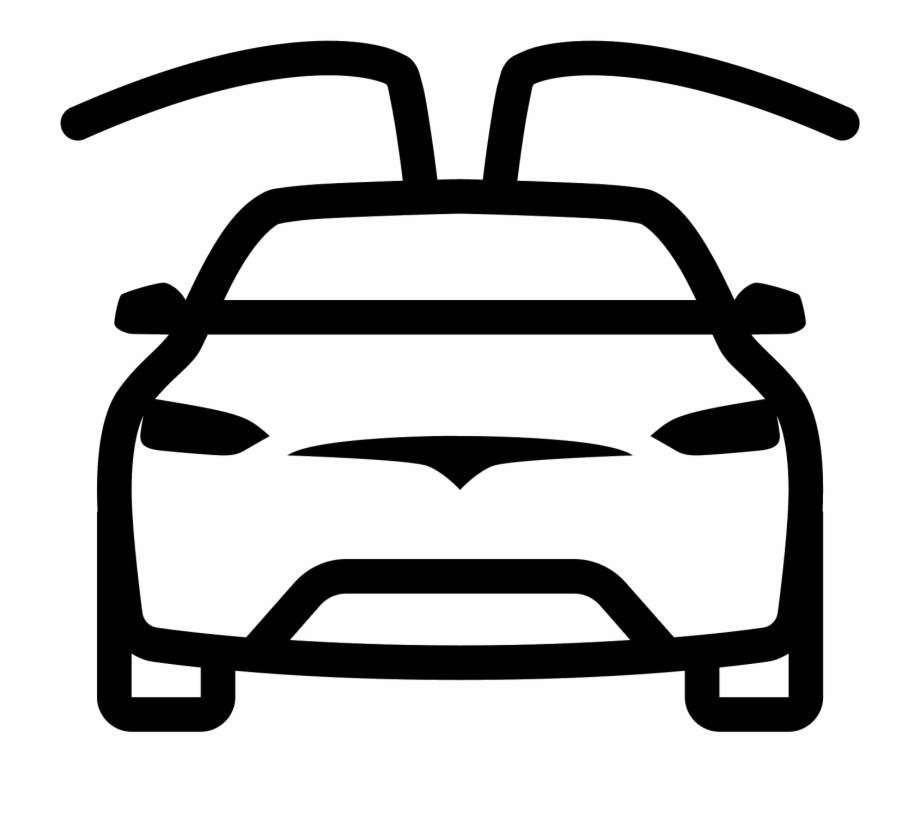 Clipart Wallpaper Blink Tesla Model X Icon Transparent
