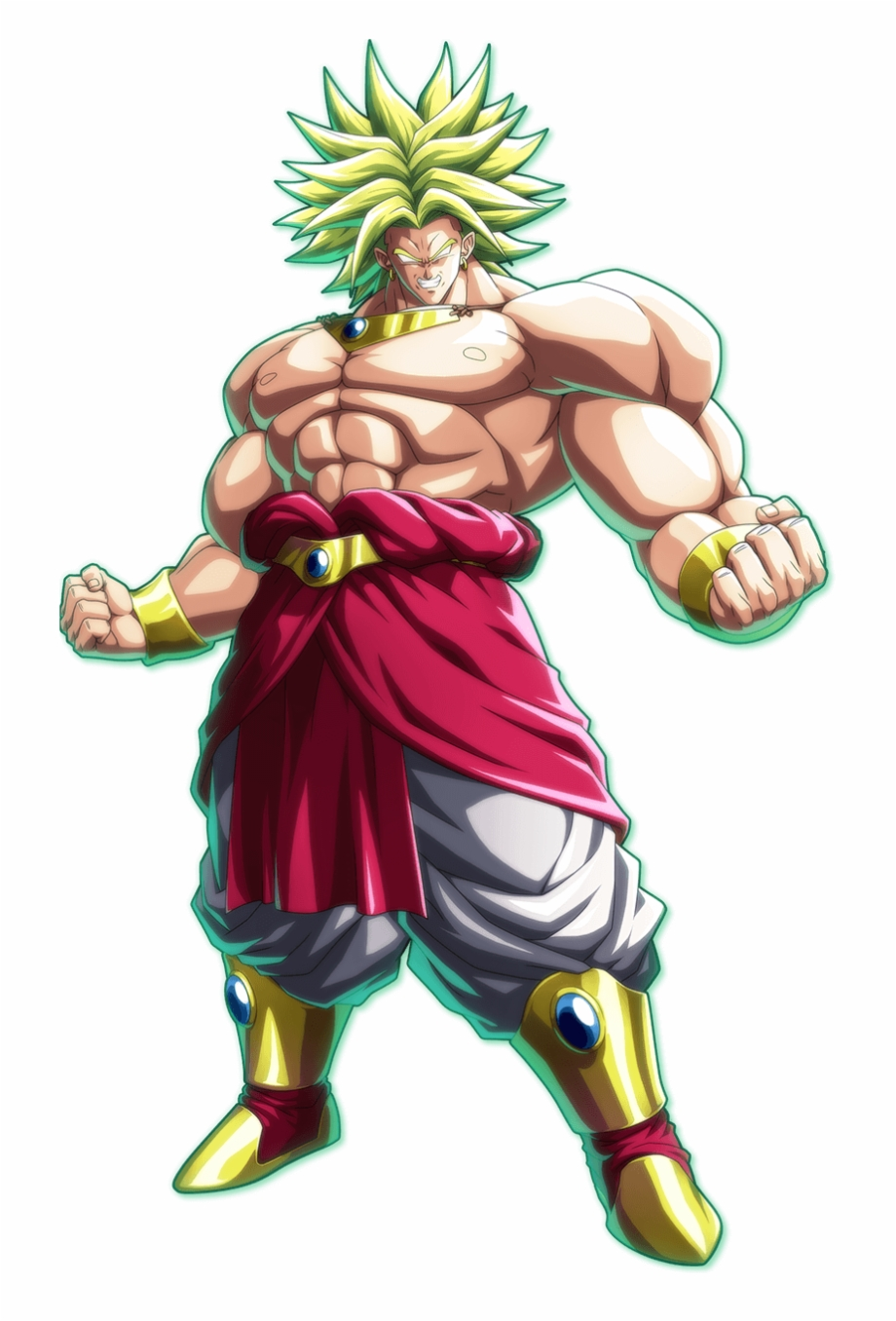 Dbfz Broly Portrait Dragon Ball Fighterz Broly Png Transparent Png Download 2372566 Vippng