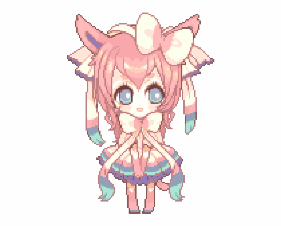 Jenguin Anime Cute Gif Png Transparent Png Download 2388901 Vippng