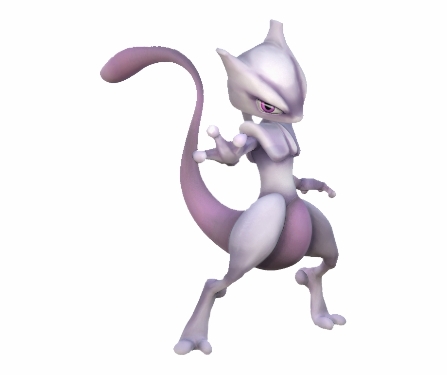Img Mewtwo Project M Render Transparent Png Download 2392777