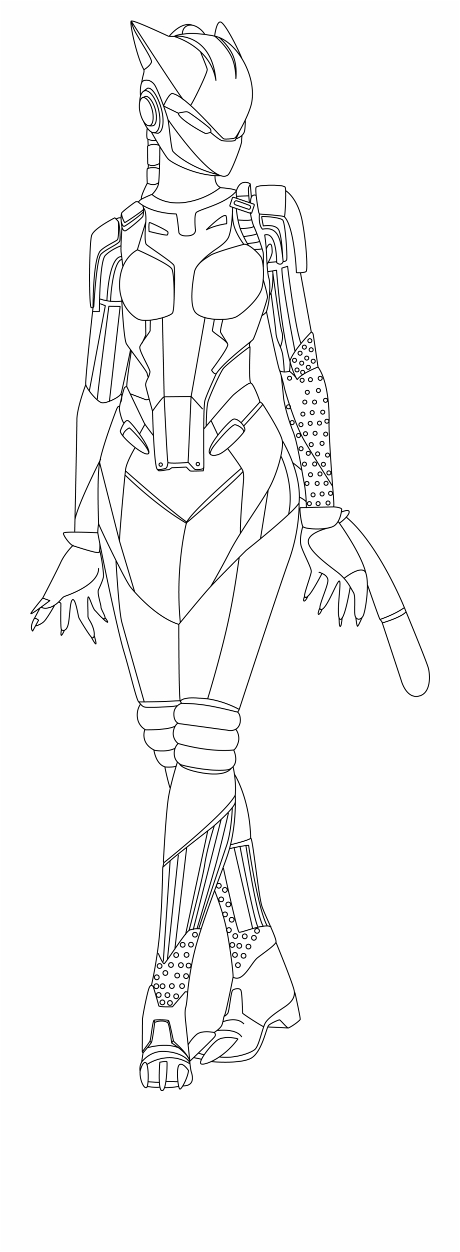 Leviathan Skin - Fortnite Coloring Pages Ice King ...