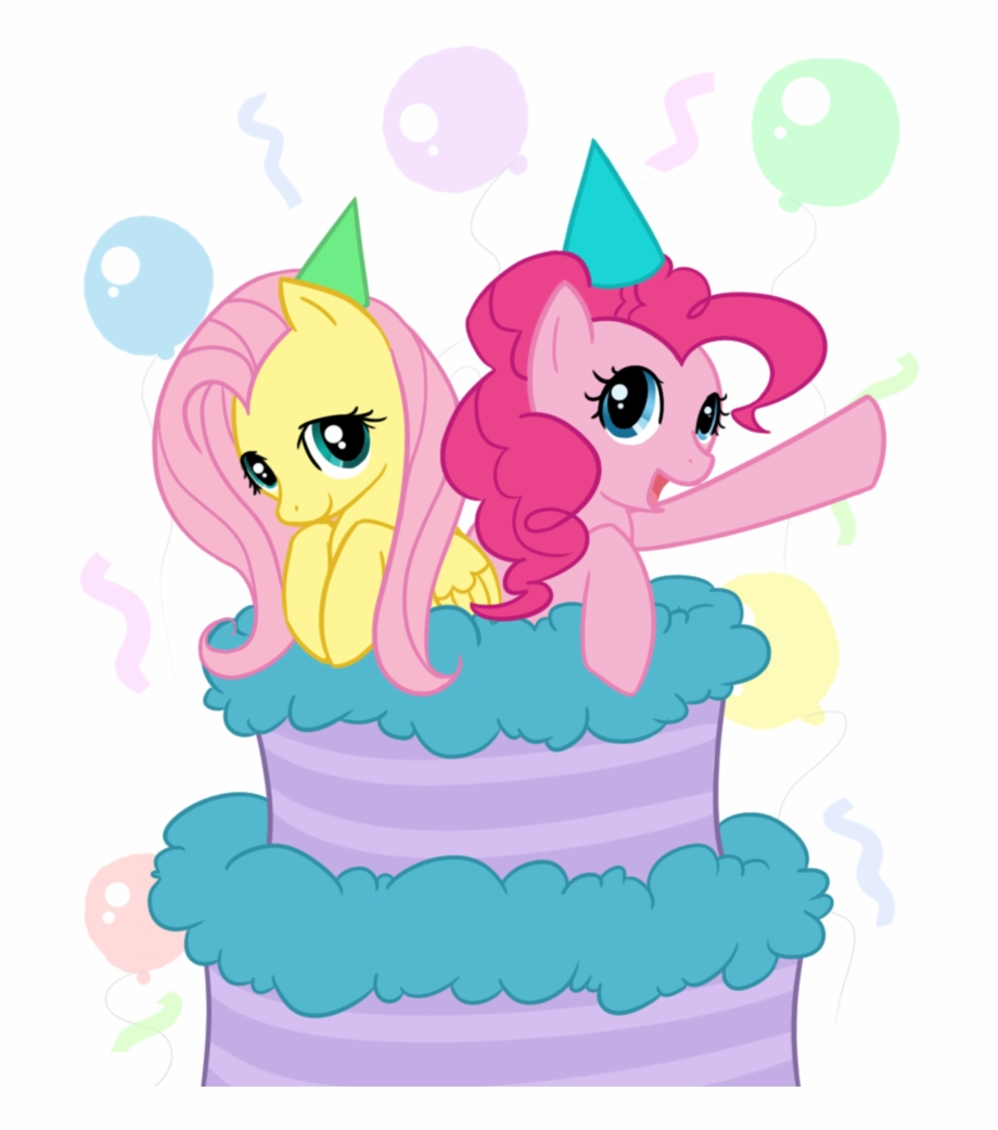 Surprising My Little Pony Clipart Birthday Cake My Little Pony Fluttershy Funny Birthday Cards Online Ioscodamsfinfo