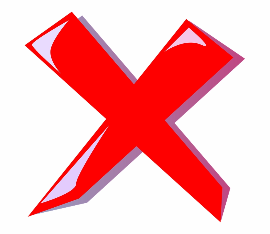 Cancel Abort Delete Cross Red Error Incorrect Error Clipart Transparent Png Download 2404041 Vippng