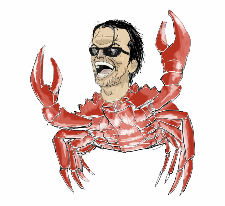 Older Crab Nicholson Extreme Sleepover Text Transparent Png Download 2406727 Vippng