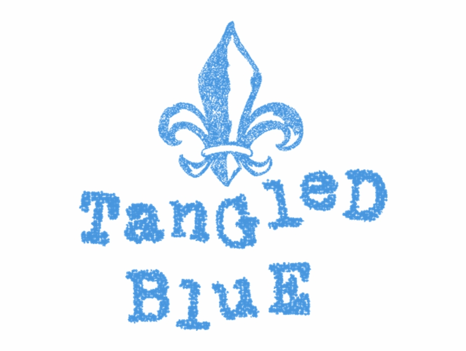 Tangled Blue Pattern Transparent Png Download 2424951 Vippng