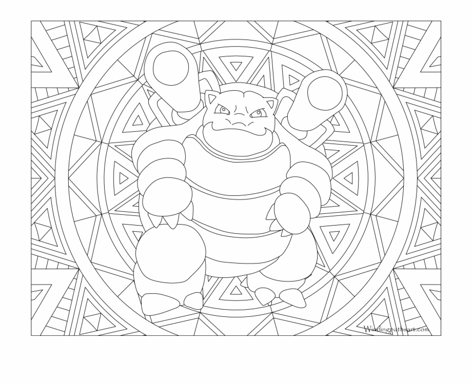 Free Blastoise Coloring Page Pokemon Pages Pokemon Mega Rayquaza Colouring Pages Transparent Png Download 2427377 Vippng